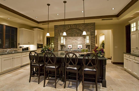 Custom Cabinetry & Kitchen Design for Fisher Custom Homes ...