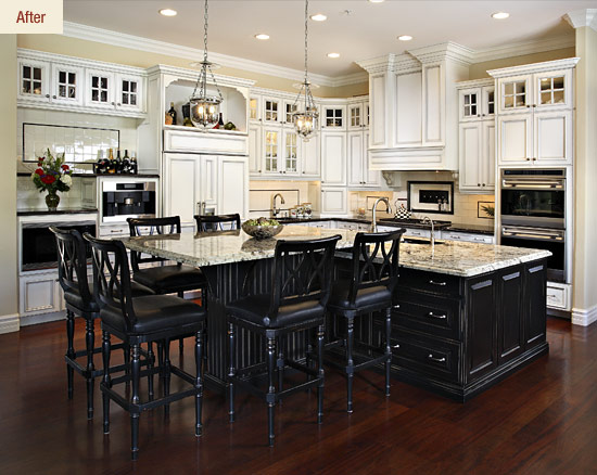 A Classic Kitchen Remodel For A Large Family Affinity Kitchens News Custom Family Kitchen Design