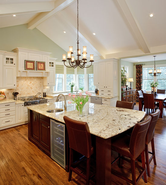 Custom Kitchen Delivers Functionality And Entertainment