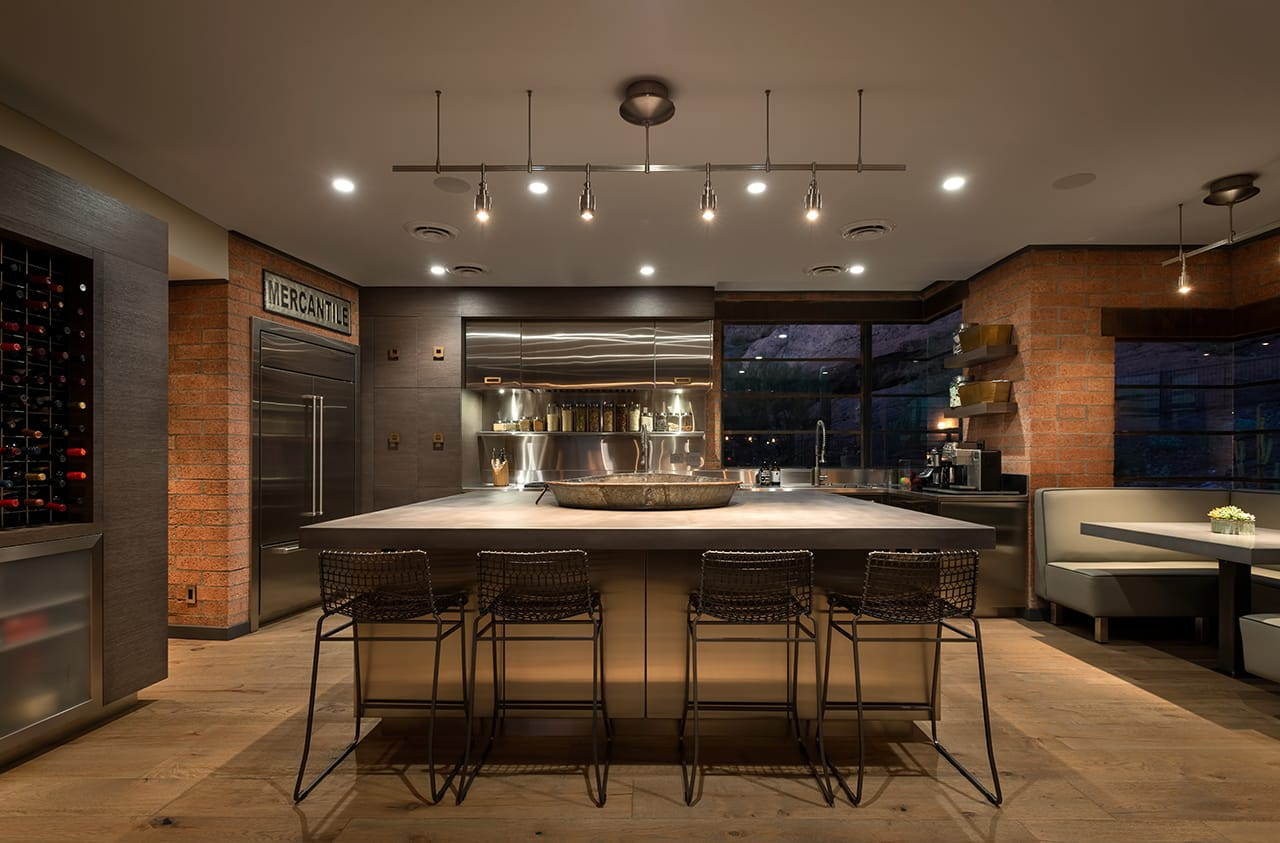 Industrial Contemporary Kitchen Design