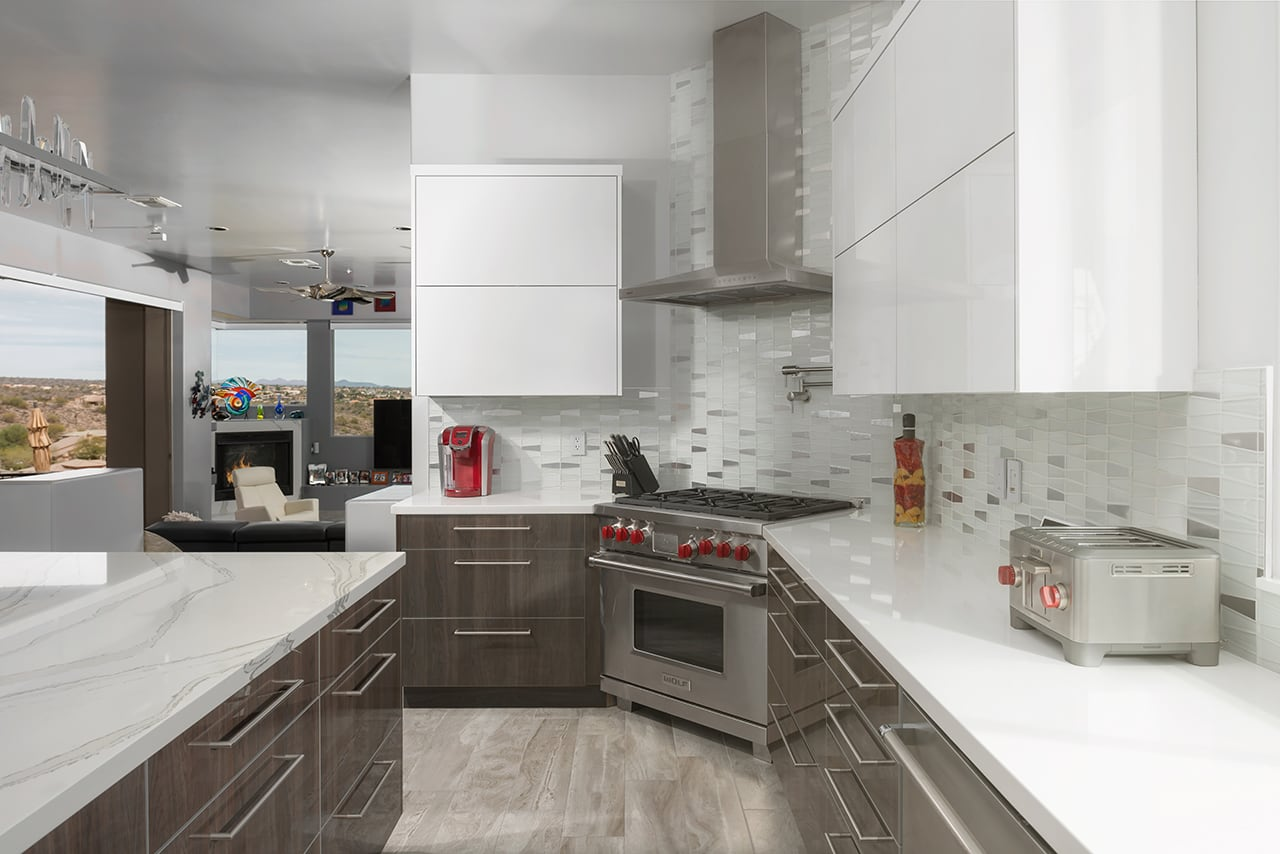 Contemporary Kitchen Design Before & After